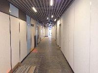 Кубообразный подвесной потолок Албес в ТЦ АВРОРА